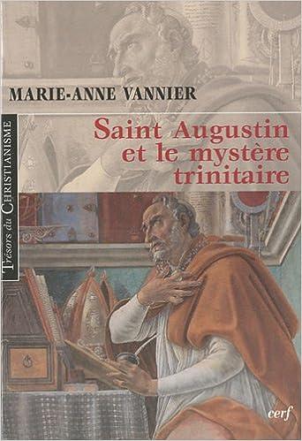Book Saint Augustin et le mystère trinitaire