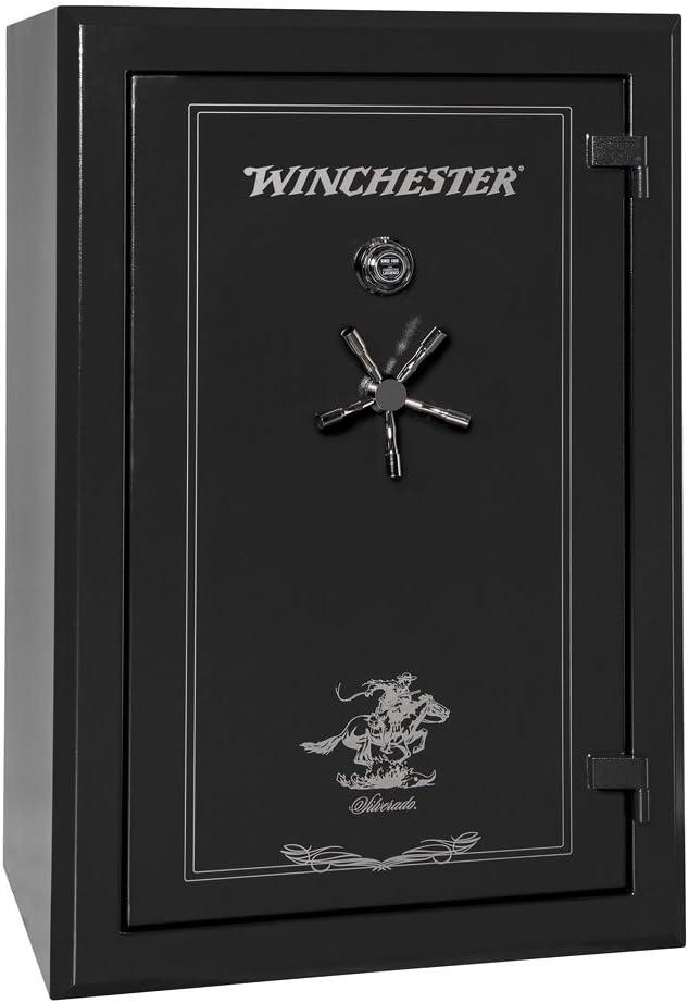 Winchester Silverado 51 (72X42X29) 48 Pistole Capacity Black Pistole Safe, S-7242-51-10-M