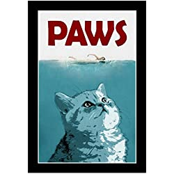 Paws Movie Poster 13 x 19in