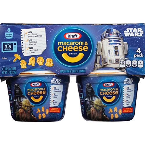 Kraft Easy Mac & Cheese Star Wars Shapes Dinner (7.6 oz Box)
