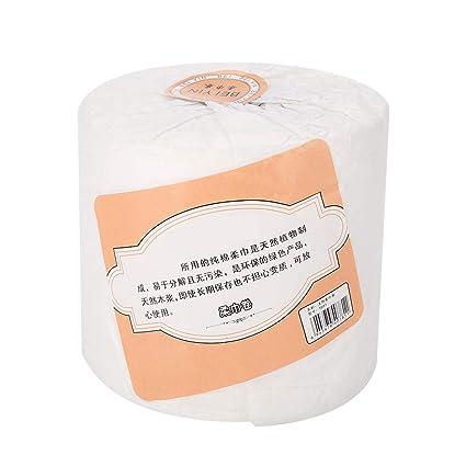 herramientas necesarias toalla de limpieza no tejida maquillaje almohadillas de algod/ón Toalla de cara desechable cosm/éticos