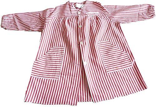 518yoFu9JzL Mandilón colegio niño de botones con dos bolsillos Mandilón con canesú con 5 botones 65% Poliéster, 35% Algodón