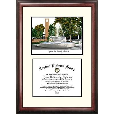 Image of Campus Images CA920V California State Fresno Scholar Diploma Frame, 8.5' x 11' Diploma Frames