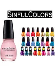 Lot of 10 Sinful Colors Finger Nail Polish Color Lacquer...