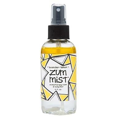 Indigo Wild Zum Mist Room Body Spray Lavender & Lemon, Clear, 4oz