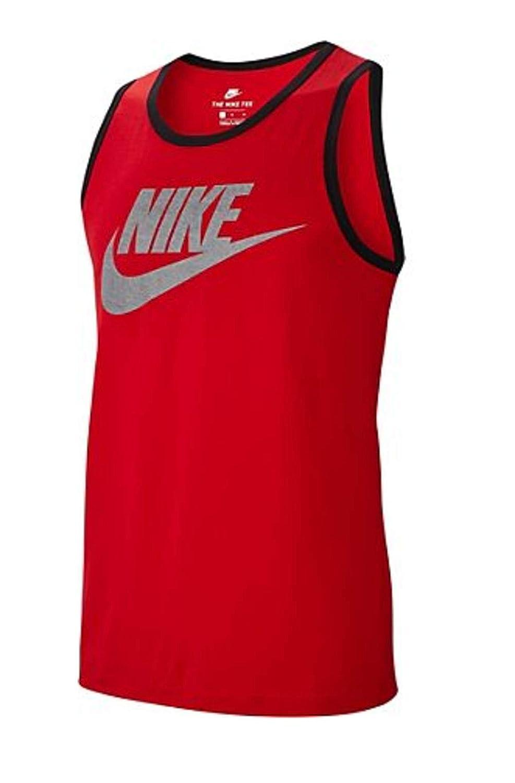 b64fd1d049d9b Amazon.com: Nike Men's Classic Futura Tank Top - Sport Red - Small ...