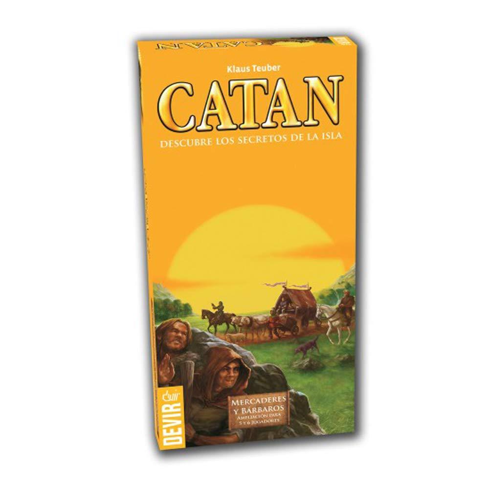 Catan, Mercaderes y Bárbaros-Ampliación para 5 y 6 jugadores https://amzn.to/2E5exq3