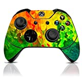 Cheap (Colorful) Custom Xbox One Controller with Exclusive Design Vinyl Skin Decal Uniquely Hand Painted and Air-Brushed