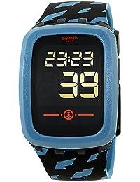 Touch Petrozero2 Black Dial Silicone Strap Unisex Watch SVQB100