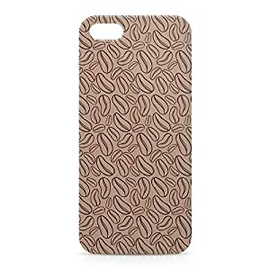 Coffee iPhone 5s 3D wrap around Case - Brown