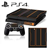 [PS4] Call of Duty: Black Ops 3 Whole Body VINYL SKIN STICKER DECAL COVER for PS4 Playstation 4 System Console and Controllers