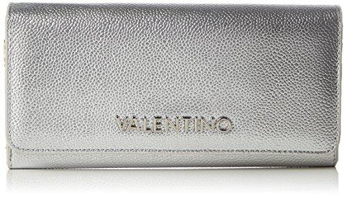 Valentino by Mario Valentino Divina Women's Wallet, Silver (Argento), 3.5x11.5x20 centimeters (B x H x T) from VALENTINO by Mario Valentino