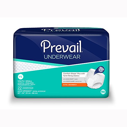 Pull Prevail (Prevail Underwear Extra Absorbency Youth/Small Case/88 (4/22s))