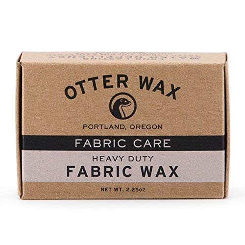 Otter Wax Fabric & Canvas Wax | Bar Regular | Repelente de a
