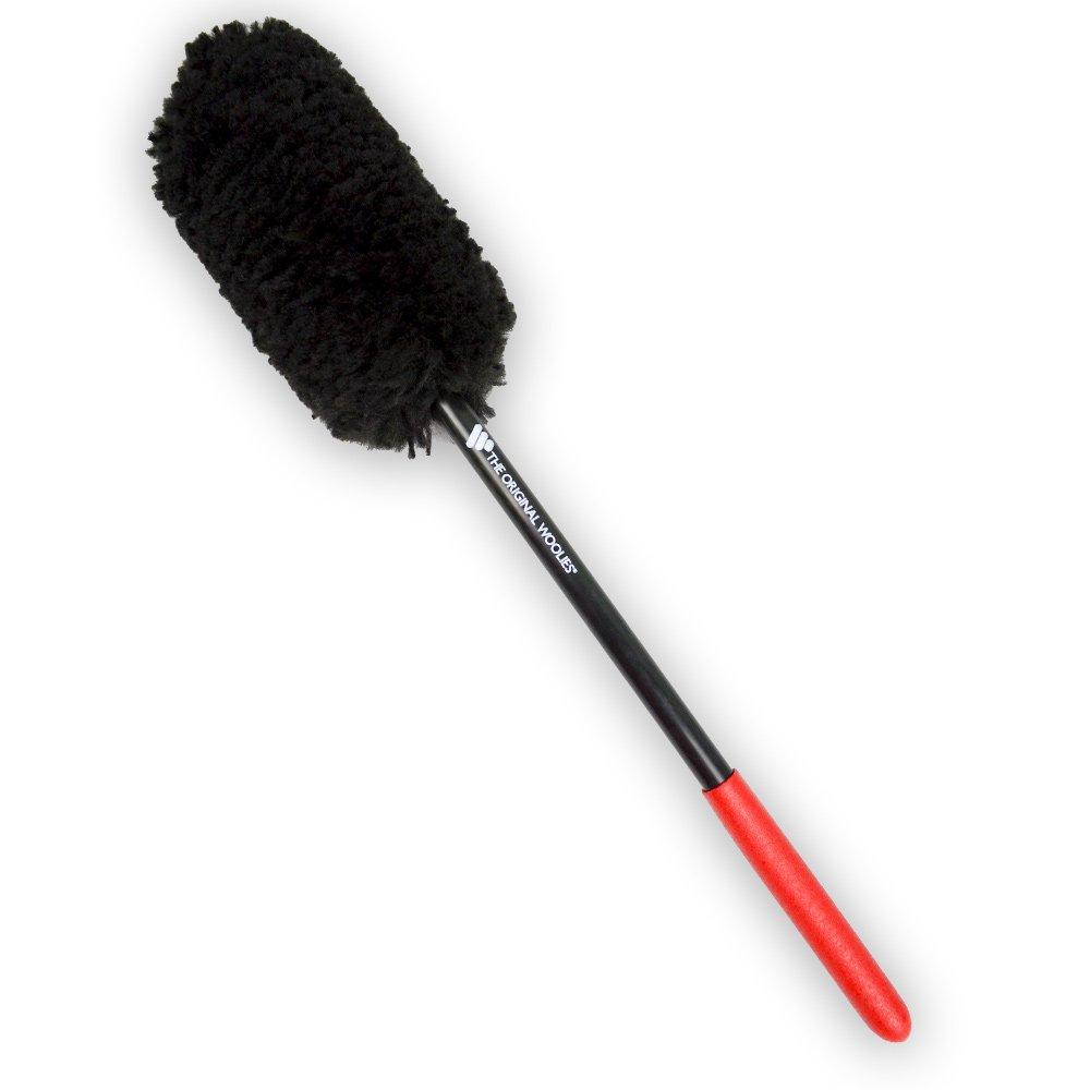 """Wheel Woolie Wheel Brush 18"""" Red Handle"""