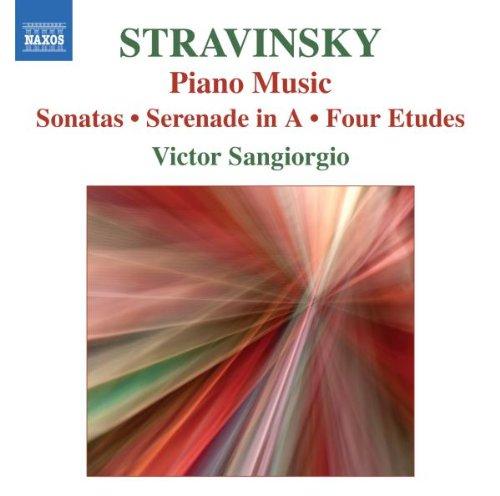 Tango Piano Music - Stravinsky: Piano Music - Sonatas / Serenade in A / Four Etudes