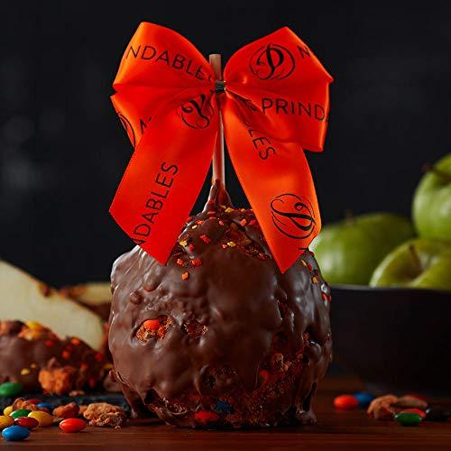 Mrs Prindables Trick-or-Treat Candy Autumn Jumbo Caramel Apple -