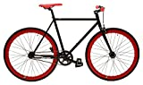 Retrospec Bicycles Mantra Fixed-Gear/Single-Speed Wheelset with 700 x 25C Kenda Kwest Tires and...