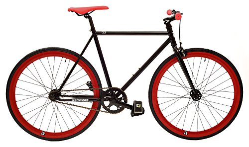 Retrospec Bicycles Mantra Fixed Gear/Single Speed Wheelset with 700 x 25C Kenda Kwest Tires and Sealed Hubs