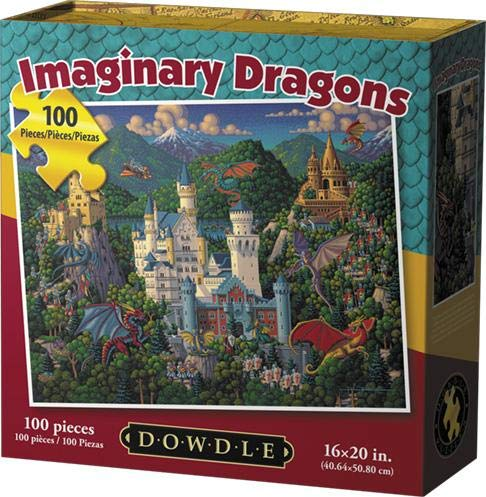 Dowdle Jigsaw Puzzle - Imaginary Dragons - 100 -