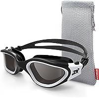 Zionor Swimming Goggles, G1 Polarized Swim Goggles with...