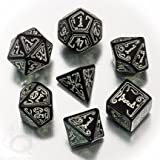 Black-glow in the dark Call of Cthulhu dice set by Q-Workshop