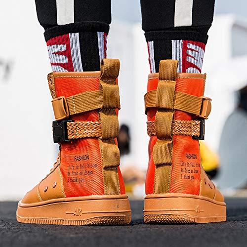 HTAO メンズ レディース レースアップ 流行り カジュアル スニーカー男女兼用 通勤 通学 23-28cm
