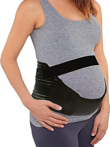 Damen Maternity Schwangerschaftsgurt Stützgürtel Bauchband Bauchstütze Umstandsgürtel Baby Safe Belt