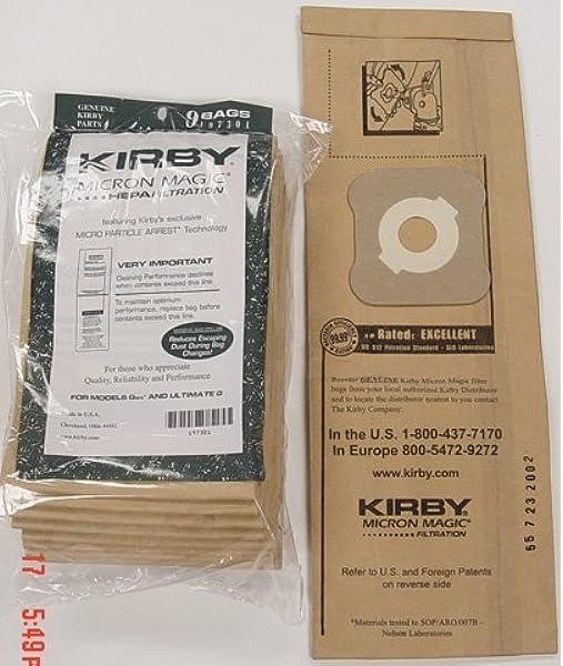 Kirby Generaci/ón 6 G6 cepillo de polvo Original