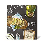 Reusable Leather Book Cover The Best Restaurant Durable School Book Protector Fits up to 9x11 inch