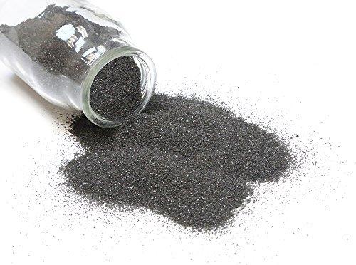 1 Pound Black Color Sand for Unity, Craft or Vase Filler by WGV