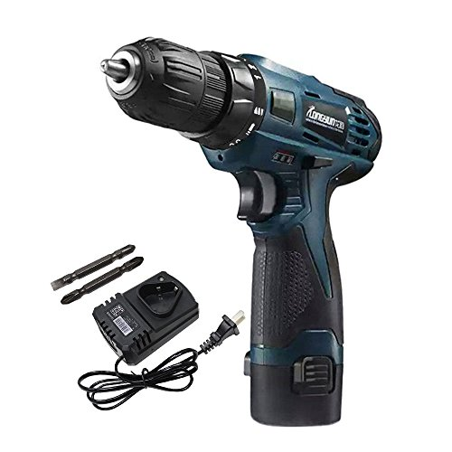 ZXMOTO 12V Rechargeable Electric Lithium-Ion Cordless Drill Driver by ZXMOTO