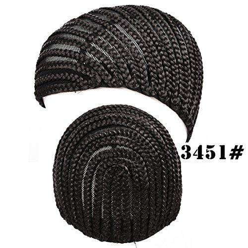 [Silike Crochet Braided Wig Caps in Cornrow Sew Hair For Making Wigs (3451)] (Cornrow Wigs)