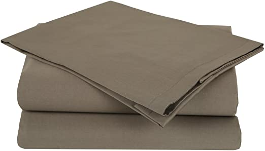 Pike Street 102438 King, Mocha Affluence T300 Duvet Cover Sets