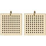 Dimensions Crafts 72-74076 Square Blank Pendant for Counted Cross Stitch Kit Large