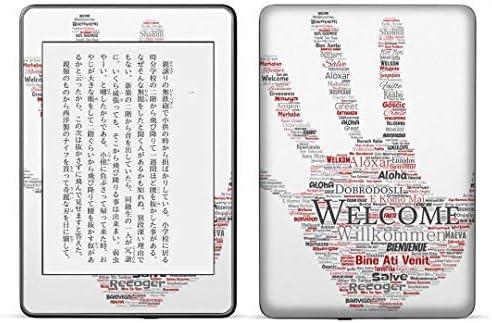 igsticker kindle paperwhite 第4世代 専用スキンシール キンドル ペーパーホワイト タブレット 電子書籍 裏表2枚セット カバー 保護 フィルム ステッカー 016406 HAND23 text24-95-500