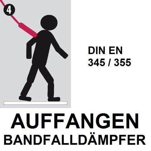 Absturzsicherung MILLER TITAN Dach- und Leiterset Set 30 m F/ührungsseil f/ür Dacharbeiten /& Bauindustrie etc. 3teilig