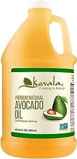 Kevala Avocado Oil 1/2 Gallon (Refined)