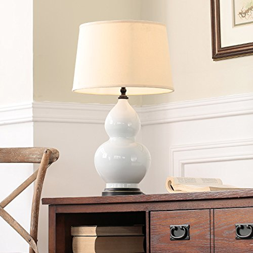 GYX calabaza de cerámica lámpara de mesa salón dormitorio de cama ...