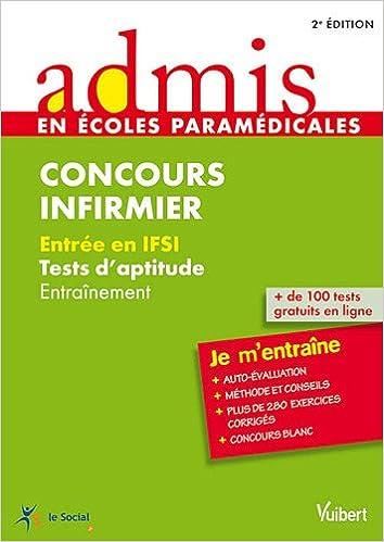 Lire un Infirmier test d'aptitude Ecrit epub, pdf