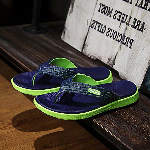 Sandalias Verde playa de suaves para estilo hombre casual 4wr401xpn