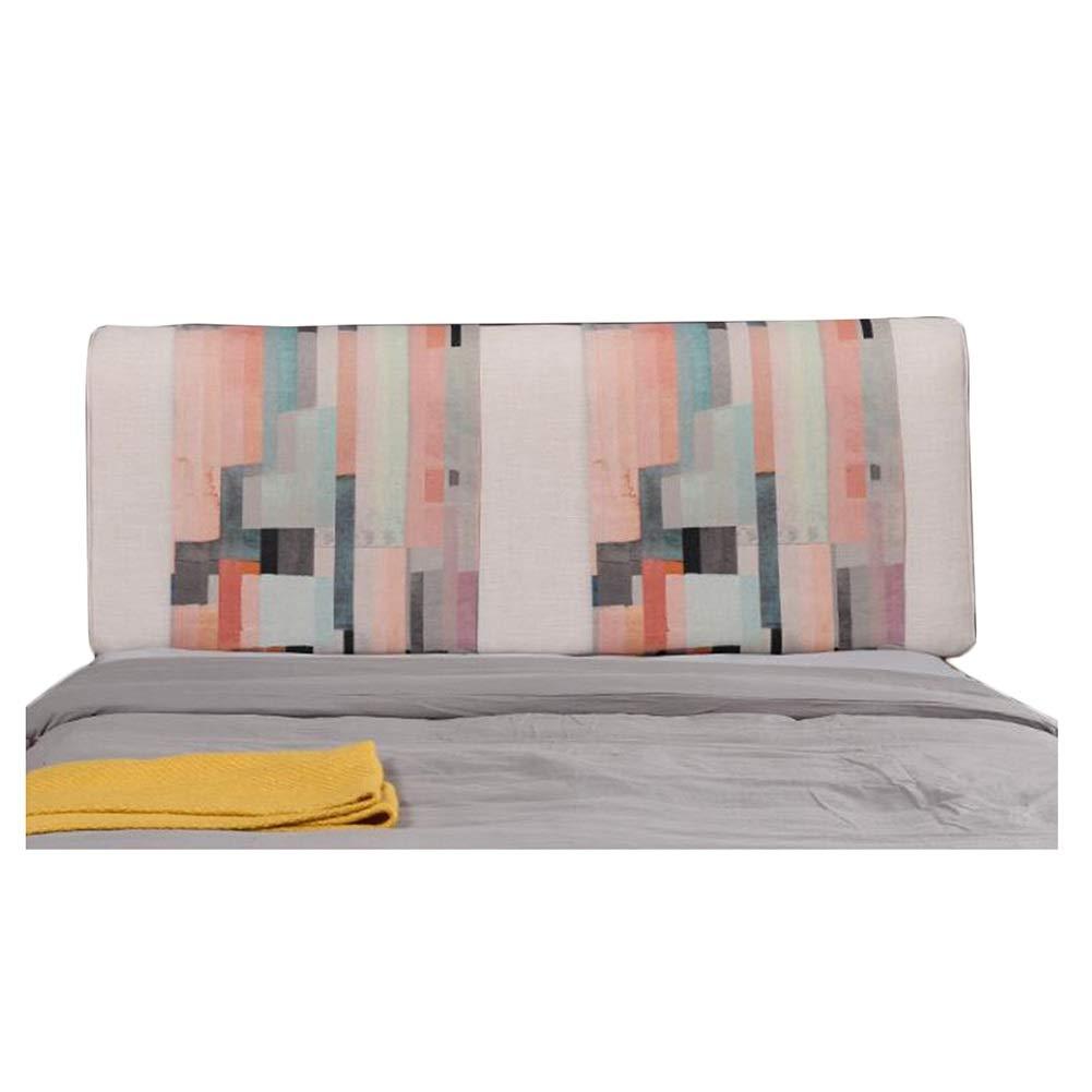 LIQICAI クッション ベッドの背もたれ ヘッドボードなしのクッション ベッドサイド背もたれ枕 布張り腰椎 柔らかい 洗える、 7色、 8サイズ (色 : E, サイズ さいず : 200X58X10CM) B07R16QFR9 E 200X58X10CM
