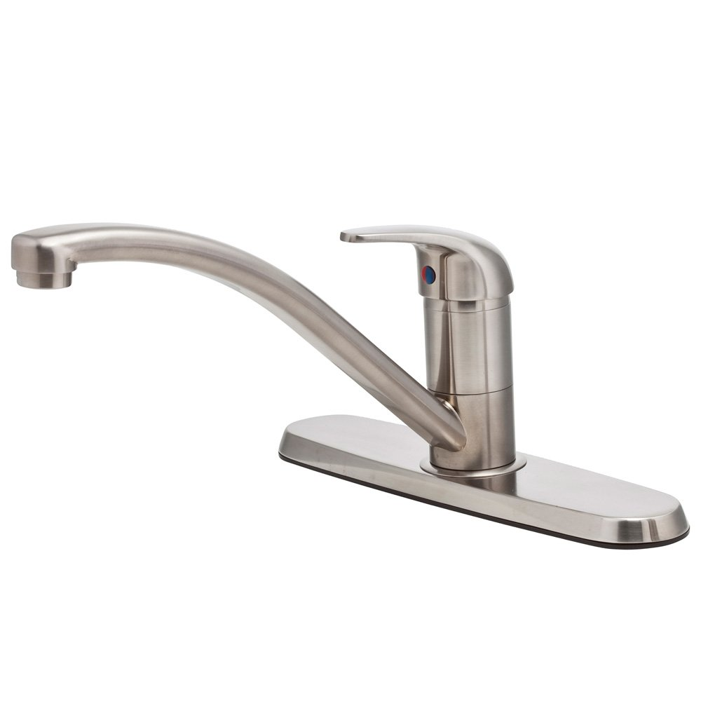 Pfister Pfirst Series 1-Handle Kitchen Faucet, Stainless Steel