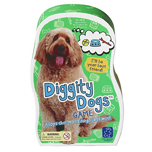 Diggity Dog Toy (Educational Insights Diggity Dogs Game)