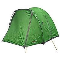 BLACKWOLF 31112452841008 Classic Dome 4+ Person Tent, Green