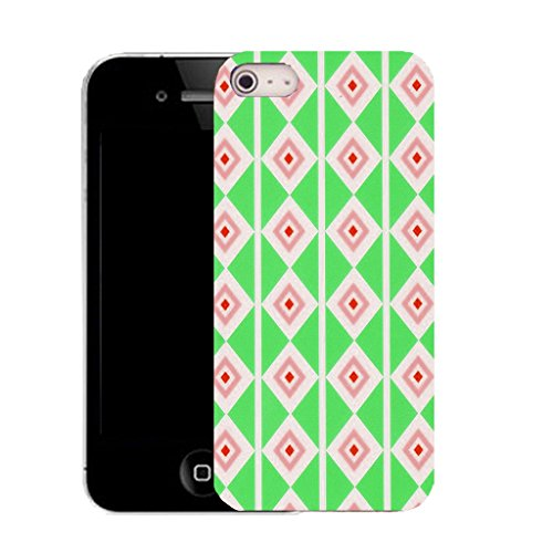 Mobile Case Mate IPhone 4 clip on Silicone Coque couverture case cover Pare-chocs + STYLET - industrious pattern (SILICON)