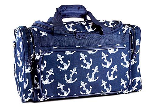 evermoda-duffle-bag-navy-blue-nautical-anchors-print-19-inch