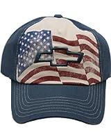 "Chevy Cherolet American Flag ""Americana Series"" Adult Men's Adjustable Cap Hat"
