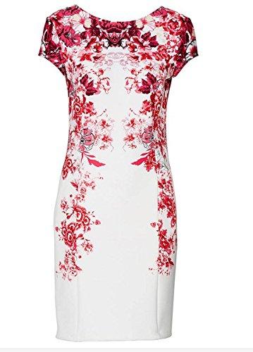 1 floral Couleur longue Mi Luxu Soirée Élégante L Robe Angatrade floral Cocktail Taille De Mode Luxu 2016 Gala fFqZFOw6