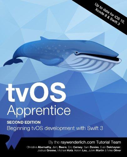 tvOS Apprentice Second Edition: Beginning tvOS Development with Swift 3, by raywenderlich.com Team, Michael Katz, Kelvin Lau, Julien Marti